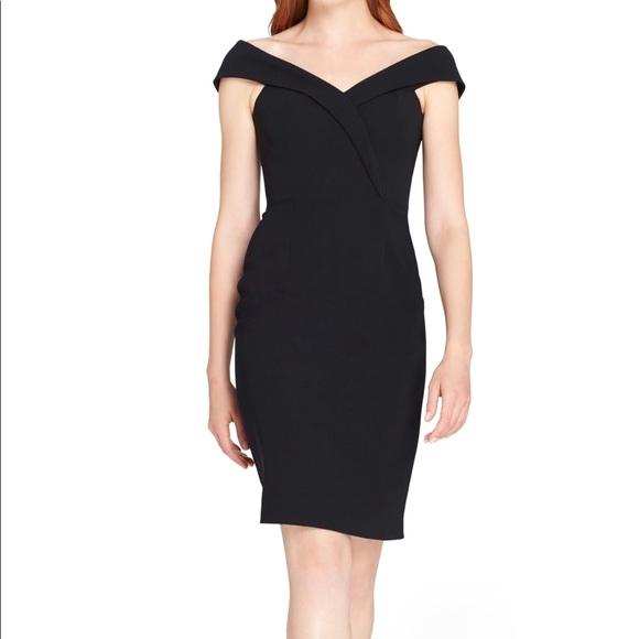 Tahari Dresses Little Black Dress Midi Length Poshmark